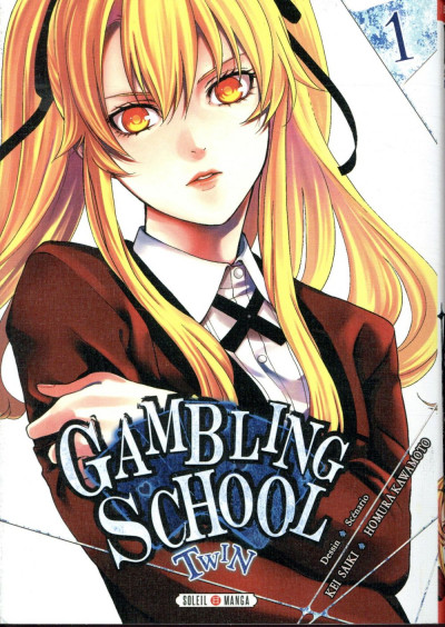 Couverture Gambling school - twin tome 1