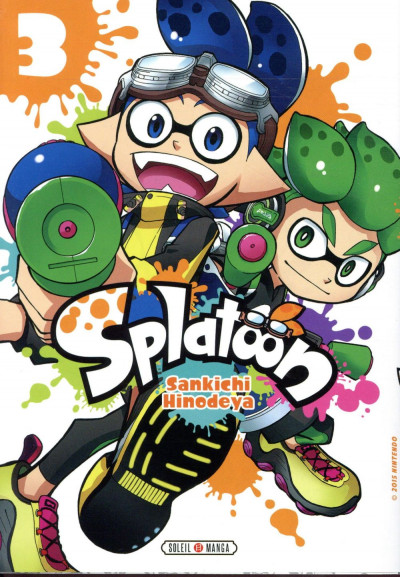 Couverture Splatoon tome 3