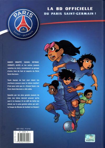 Dos PSG academy dream team tome 1