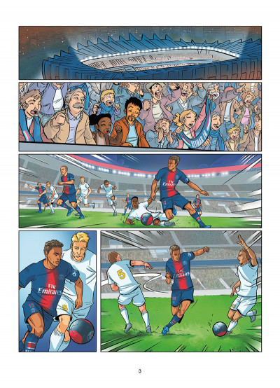 Page 1 PSG academy dream team tome 1