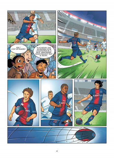 Page 2 PSG academy dream team tome 1