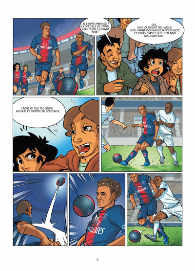 Page 3 PSG academy dream team tome 1