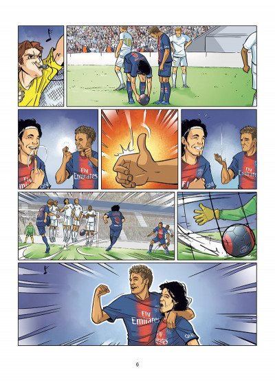 Page 4 PSG academy dream team tome 1