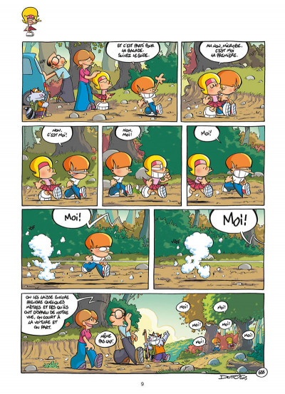 Page 9 Les p'tits diables - HS - Vive les vacances !