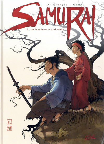 Couverture Samurai - pack tomes 1 + 2 (tome 1 offert)