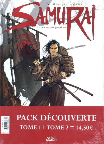 Dos Samurai - pack tomes 1 + 2 (tome 1 offert)