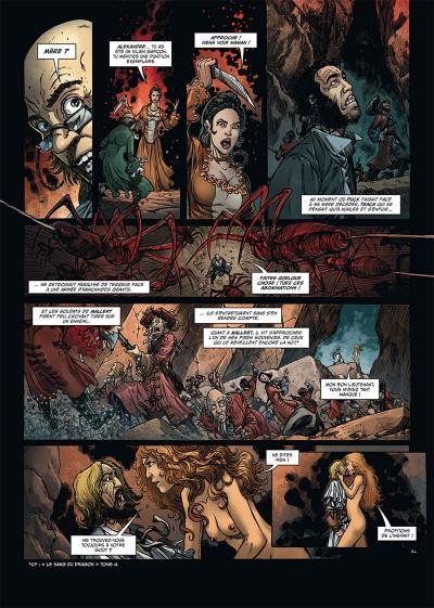 Page 4 Le sang du dragon tome 12