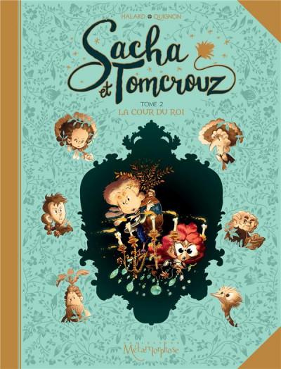 Couverture Sacha et Tomcrouz tome 2