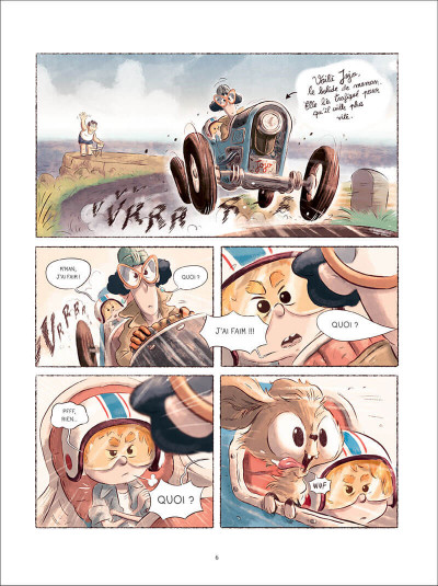 Page 6 Sacha et Tomcrouz tome 2