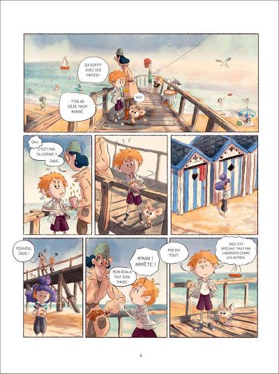 Page 9 Sacha et Tomcrouz tome 2