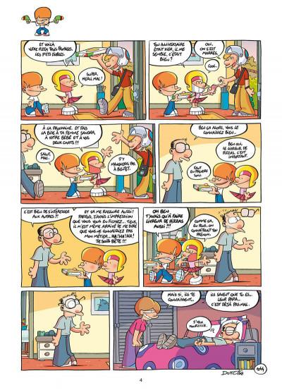 Page 4 Les p'tits diables tome 26