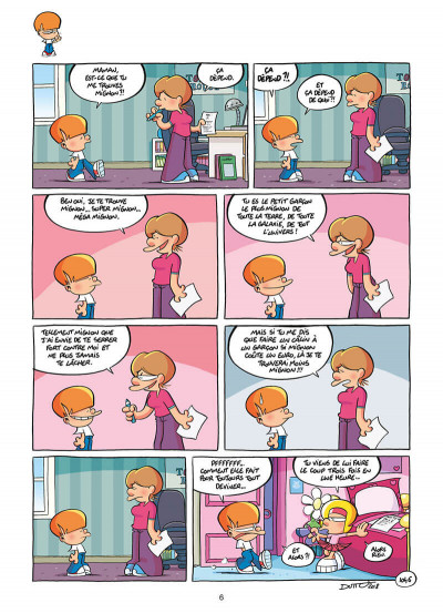 Page 6 Les p'tits diables tome 26