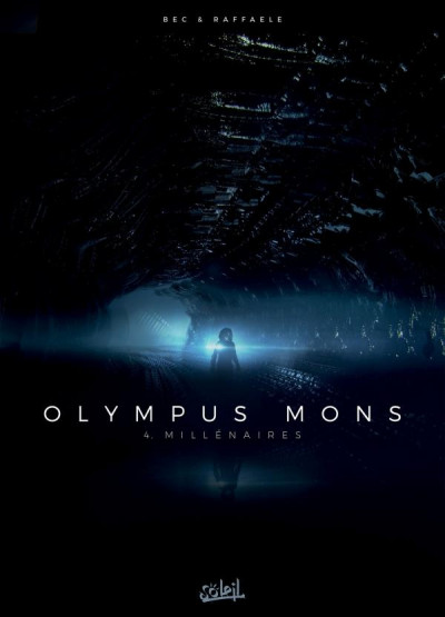 Couverture Olympus mons tome 4 + ex-libris offert