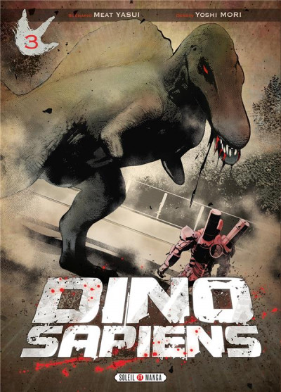 Couverture Dino Sapiens tome 3