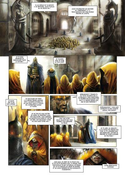 Page 2 La cathédrale des abymes tome 1