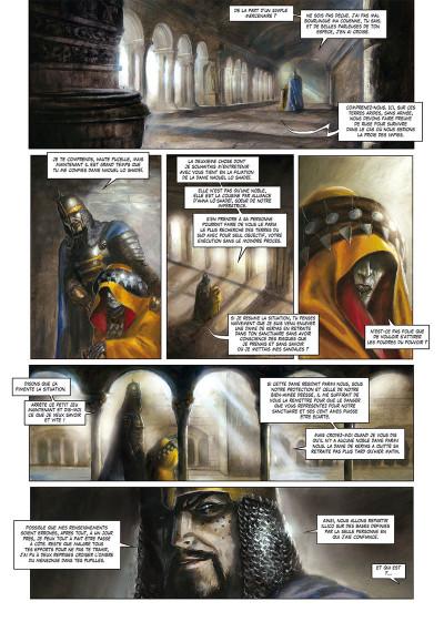 Page 3 La cathédrale des abymes tome 1