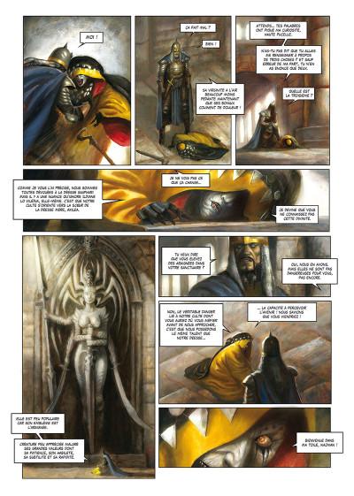 Page 4 La cathédrale des abymes tome 1