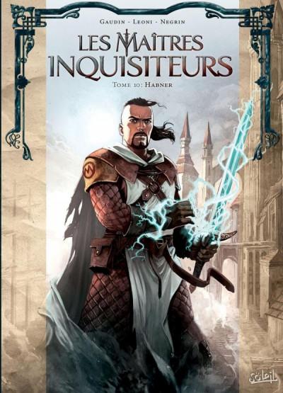 Couverture Les maîtres inquisiteurs tome 10 + ex-libris offert