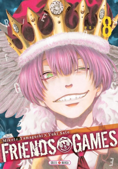 Couverture Friends games tome 8