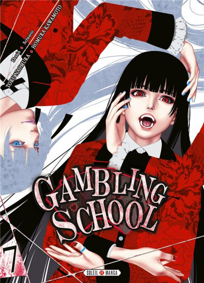 Couverture Gambling school tome 7