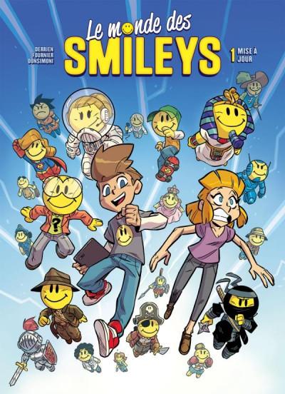 Couverture Le monde des smileys tome 1
