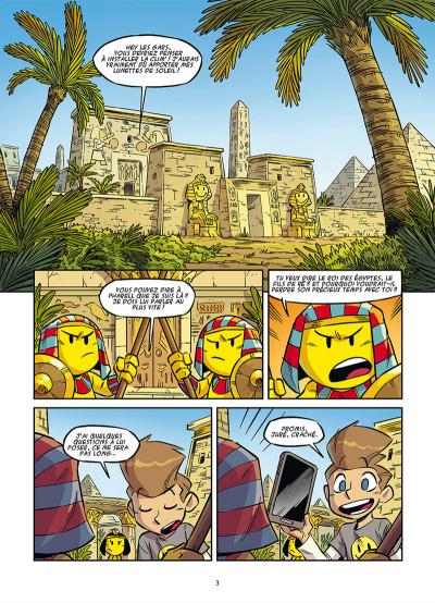 Page 1 Le monde des smileys tome 1