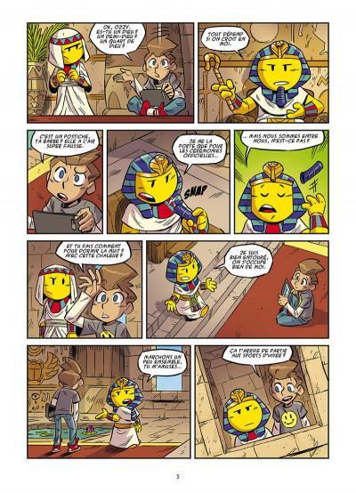 Page 3 Le monde des smileys tome 1