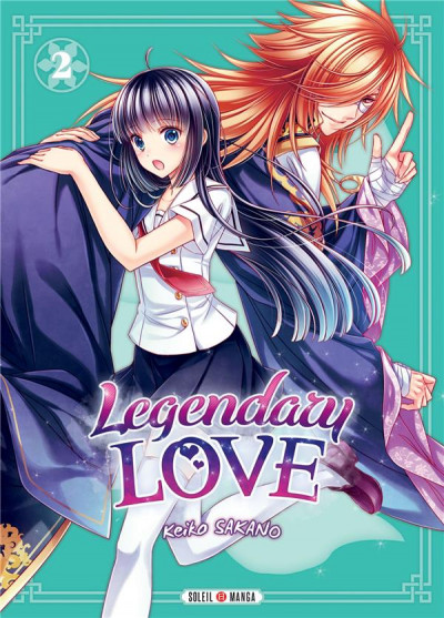 Couverture Legendary love tome 2