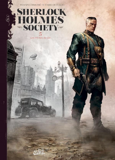 Couverture Sherlock Holmes society tome 5