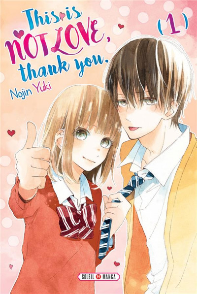 Couverture This is not love, thank you tome 1
