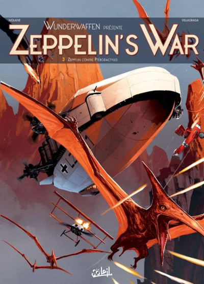 Couverture Wunderwaffen présente Zeppelin's war tome 3