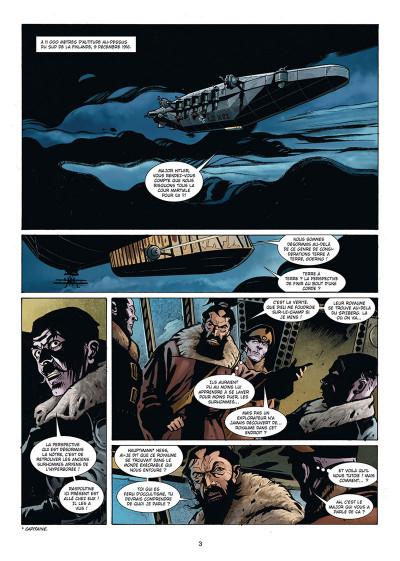 Page 1 Wunderwaffen présente Zeppelin's war tome 3