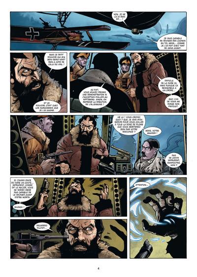 Page 2 Wunderwaffen présente Zeppelin's war tome 3
