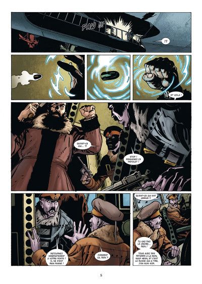 Page 3 Wunderwaffen présente Zeppelin's war tome 3