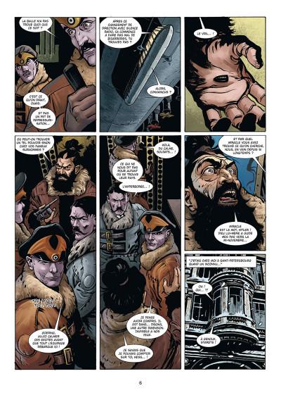 Page 4 Wunderwaffen présente Zeppelin's war tome 3