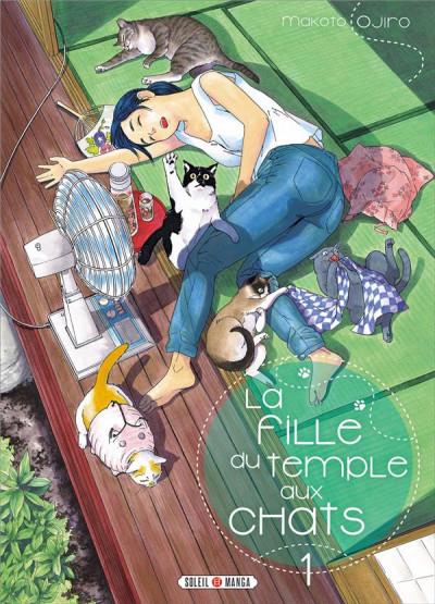 Couverture La fille du temple aux chats tome 1