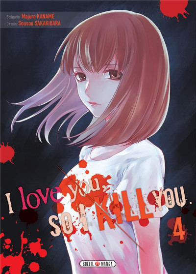 Couverture I love you so i kill you tome 4