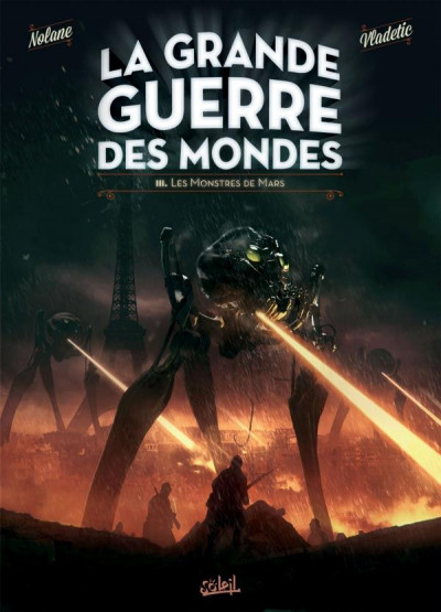 Couverture La grande guerre des mondes tome 3