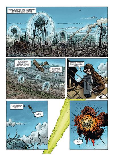 Page 2 La grande guerre des mondes tome 3