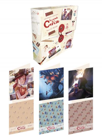 Couverture Les carnets de Cerise - Set de 12 cartes + enveloppes