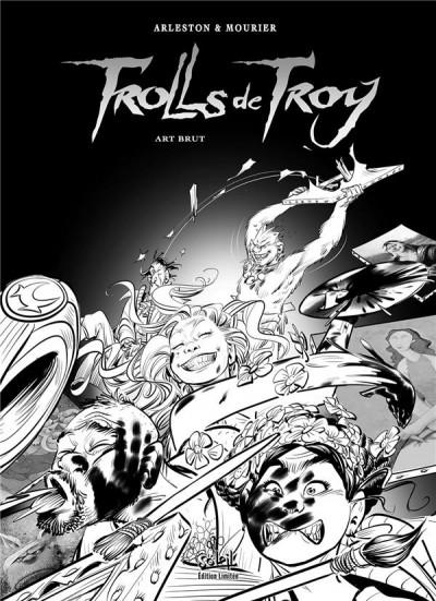 Couverture Trolls de troy - édition spéciale n&b tome 23