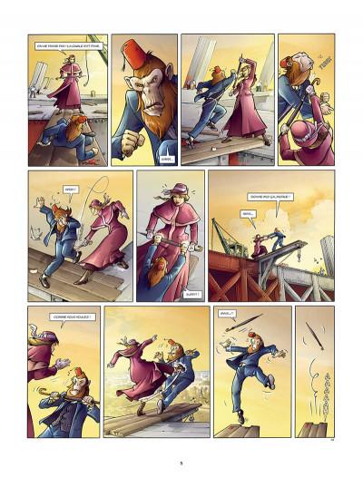 Page 3 Aspic, détectives de l'étrange tome 7