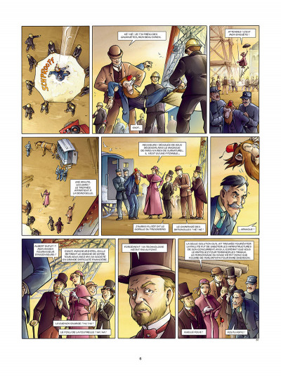 Page 4 Aspic, détectives de l'étrange tome 7