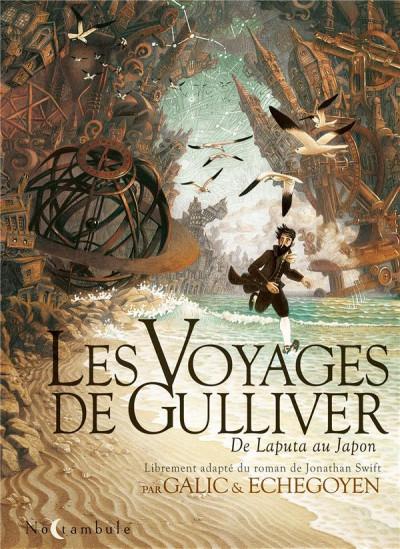 Couverture Les voyages de Gulliver - De Laputa au Japon