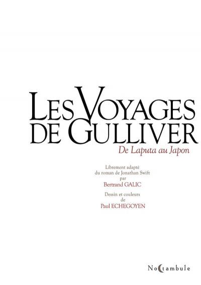 Page 3 Les voyages de Gulliver - De Laputa au Japon