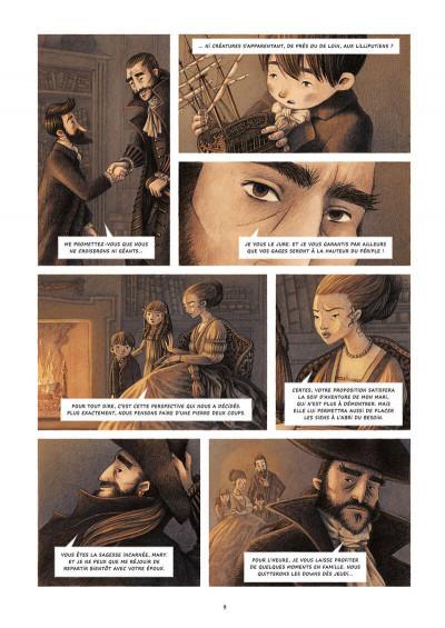 Page 9 Les voyages de Gulliver - De Laputa au Japon