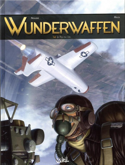 Couverture Wunderwaffen tome 14 - Le feu du ciel