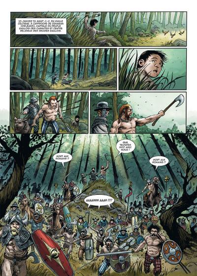 Page 1 Le troisième fils de Rome tome 4