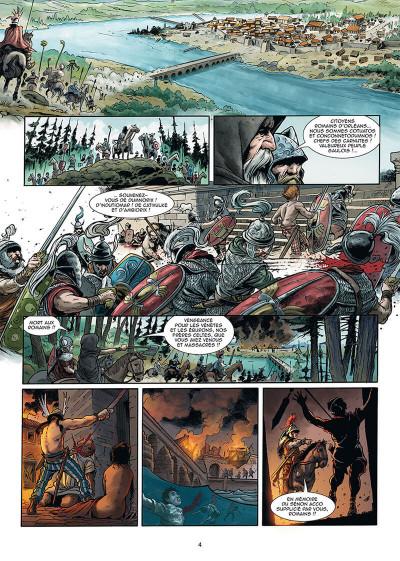Page 2 Le troisième fils de Rome tome 4
