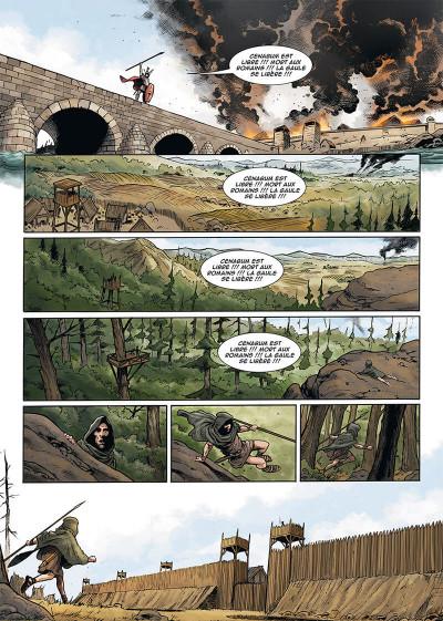 Page 4 Le troisième fils de Rome tome 4